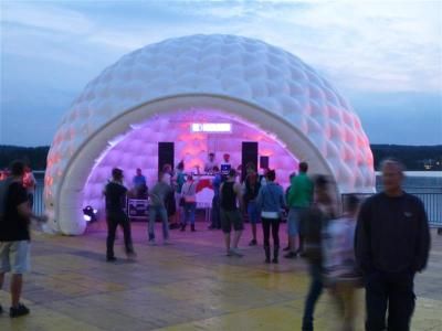 Showzelt - Ideal als Showzelt: aiRdome 75
